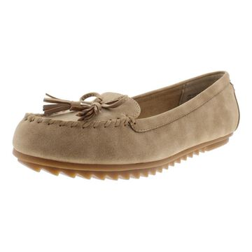 Cliffs by White Mountain Womens Samanda Faux Leather Padded Insole Loafers