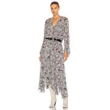 Isabel Marant Etoile Laureli Dress in Chalk | FWRD