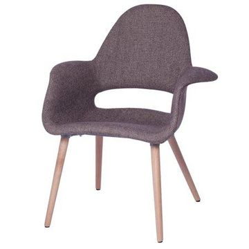 Fine Mod Imports Forza Dining Chair, Gray