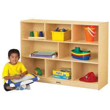 Jonti-Craft Super-Sized Single Storage Bookcase