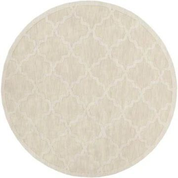 Artistic Weavers Central Park Abbey 9'9 Round Handcrafted Area Rug In Beige