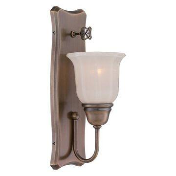 Designers Fountain 68001 Astor 1 Light Reversible Bathroom Sconce