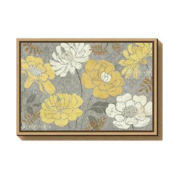 Amanti Art Morning Tones Gold Iii by Daphne Brissonnet Canvas Framed Art
