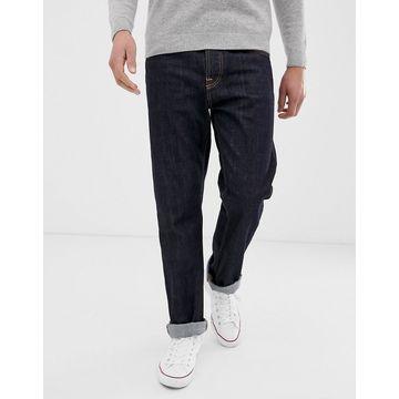 Nudie Jeans Co Sleepy Sixten loose tapered fit jeans in rinsed blue