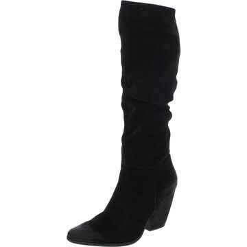 Charles by Charles David Womens Nexus Mid-Calf Boots Leather Pointed Toe