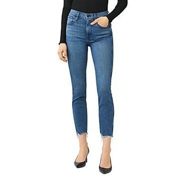 3x1 W3 Authentic High-Rise Straight-Leg Jeans in Wilton