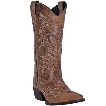 Dan Post Laredo Leather Cowboy Boots - Cross Point