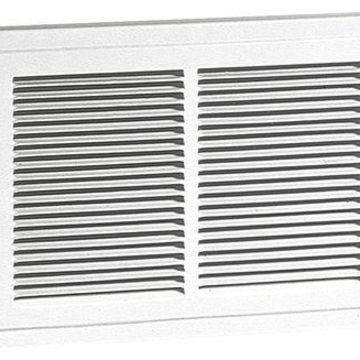 BROAN 124 Electric Wall Heater, Recessed, 750/1500, 1125/1500 W, White