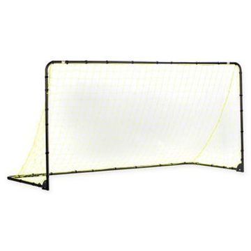 Franklin Sports 6-Foot x 12-Foot Powder-Coated Steel Folding Soccer Goal in Yellow/Black