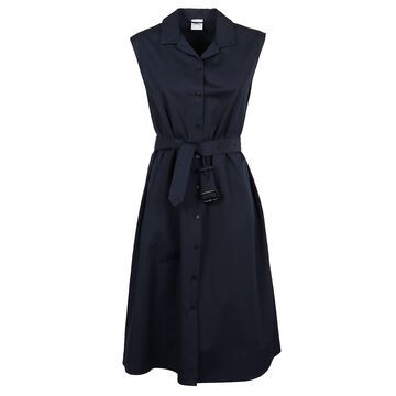 Aspesi Sleeveless Belted Dress