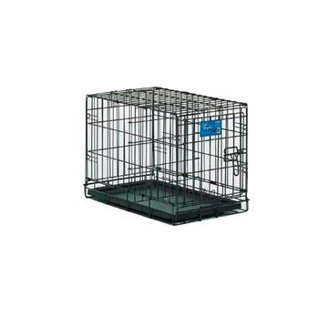 Midwest Life Stages Single Door Dog Crate, Black, 22