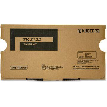 KYOCERA TK-3122 BLACK TONER CARTRIDGE FOR USE IN FS4200DN ESTIMATED YIELD 21000