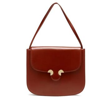 Rodo - Smooth-leather Shoulder Bag - Womens - Red