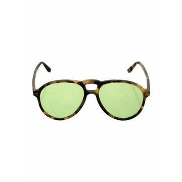 Aviator Tinted Sunglasses Brown