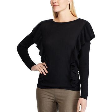 Women's Chaps Ruffle Sweater