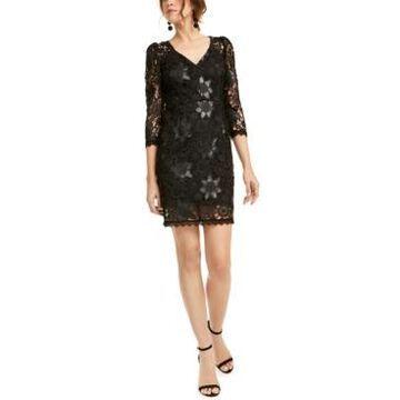 Nanette Lepore Floral Lace Dress