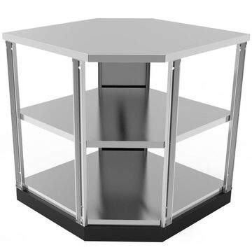 NewAge Products Modular Outdoor Kitchen Prep Station Stainless Steel
