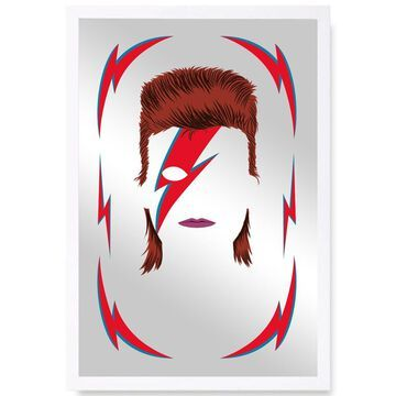 Oliver Gal 'Bowie' Mirror - Grey
