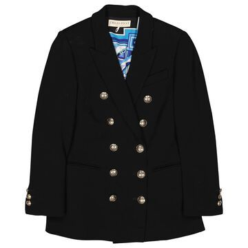 Emilio Pucci Black Wool Jackets