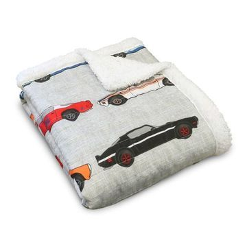 Lush Decor Race Cars Throw