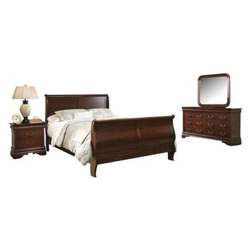 Liberty Carriage Court Bedroom Set With Queen Bed