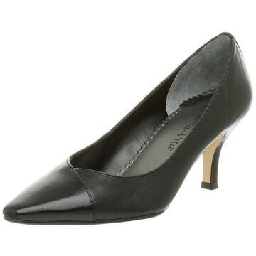 Bella Vita Womens Wow Leather Solid Pumps