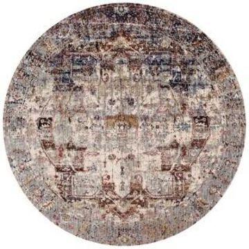 Alexander Home Contessa Traditional Medallion Boho Distressed Rug