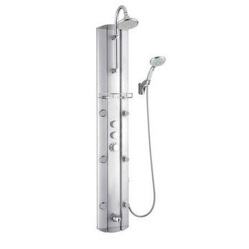 DreamLine SHCM-23580 Hydrotherapy Shower Panel with Shower Accessory Holder