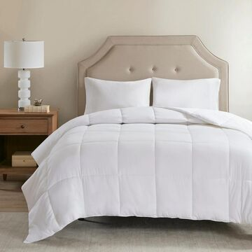 Sleep Philosophy 300 Thread Count White Cover Tencel  Filled Down Alternative Comforter Antimicrobial BI-OME Odor Eliminator (King)