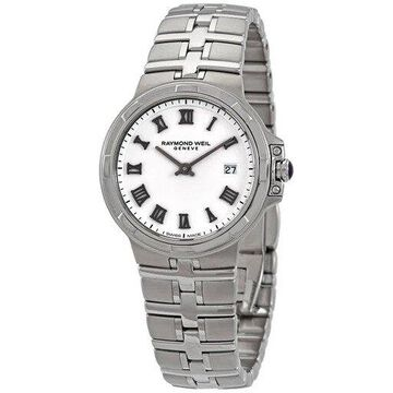 Raymond Weil Parsifal White Dial Ladies Watch 5180-ST-00300