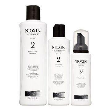 ($61 Value) Nioxin System 2 Start Kit, 3 Piece Set