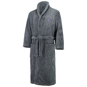 Tennessee Titans Concepts Sport Trifecta Robe - Charcoal