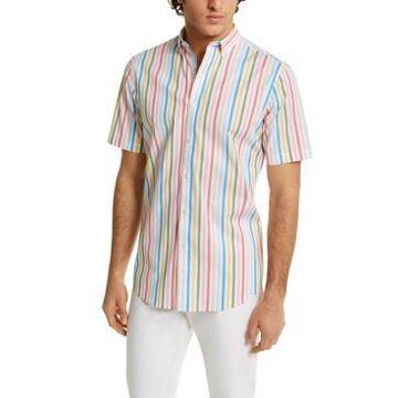 Club Room Men's Stripe Shirt, Created For Macy's