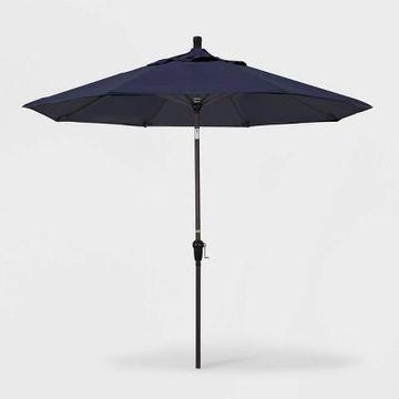 9' Aluminum Auto Tilt Patio Umbrella - California Umbrella