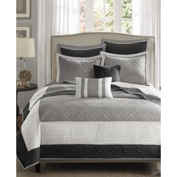 Madison Park Attingham 7-Pc. Full/Queen Coverlet Set Bedding