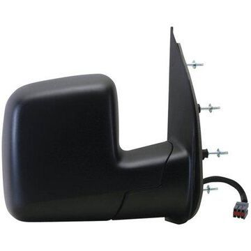 61115F - Fit System Passenger Side Mirror for 03-06 Ford Econoline Van, dual lens, w/o puddle lamp, black, foldaway, Power