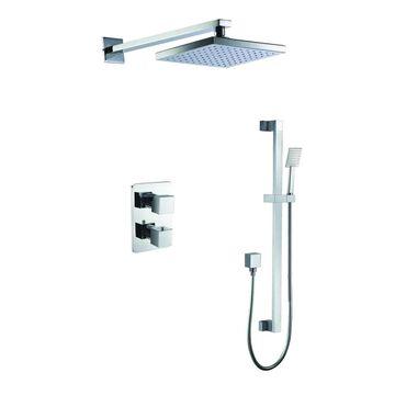 ALFI brand Polished Chrome Shower Bar System | AB2830-PC