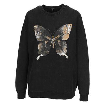 R13 Butterfly-print Sweatshirt