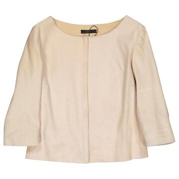 The Row \N Beige Leather Jackets