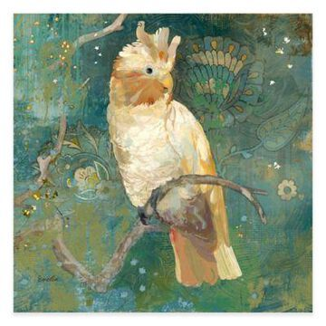 Marmont Hill Cockatoo Perched II 48-Inch x 48-Inch Canvas Wall Art