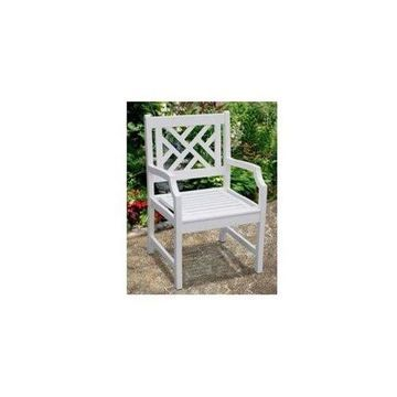 Vifah Bradley OutDr Wood Armchair