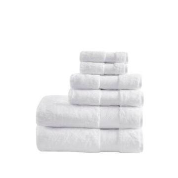Madison Park Signature 100% Turkish Cotton 6-Pc. Towel Set Bedding