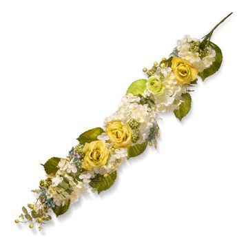 National Tree Company Artificial Spring Flowers Garland
