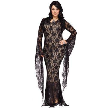 Fun World Miss Darkness Plus Costume-Plus Size