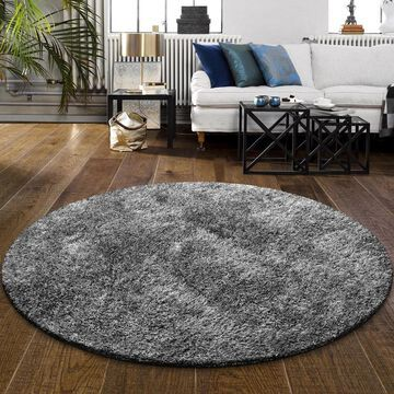 Superior Elegant, Plush, Cozy and Hand Woven Round Shag Rug