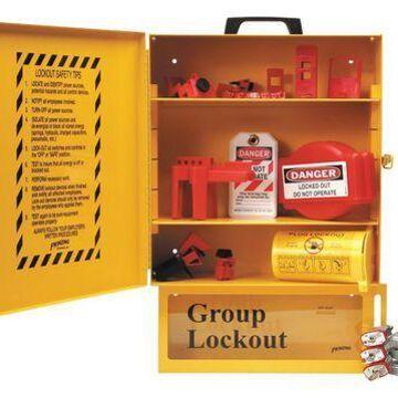 BRADY 99710 Lockout Station,Electrical,30 Components