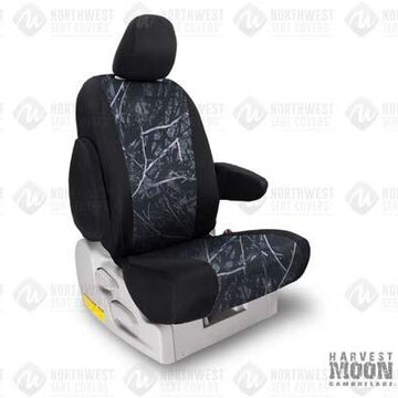 NorthWest Camo Seat Covers, 4th-Row Seat Covers in Moon Shine Harvest Moon w/ Black Sides, FF0