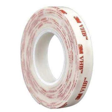 3M 4930 3M 4930 VHB Tape 3.5'' x 5yd, White, 25 mil