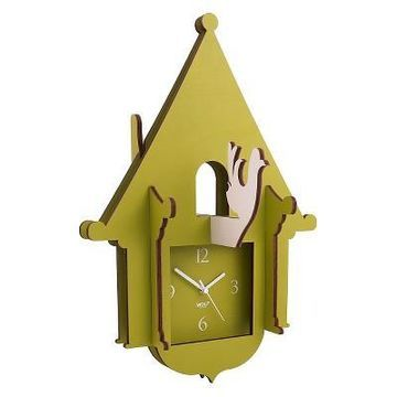 Jigsaw Cuckoo Clock Green - WOLF