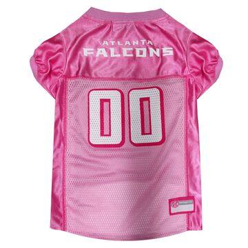 Pets First Atlanta Falcons NFL Pink Mesh Jersey, X-Small